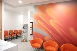 poczekalnia gabinetu dentystycznego